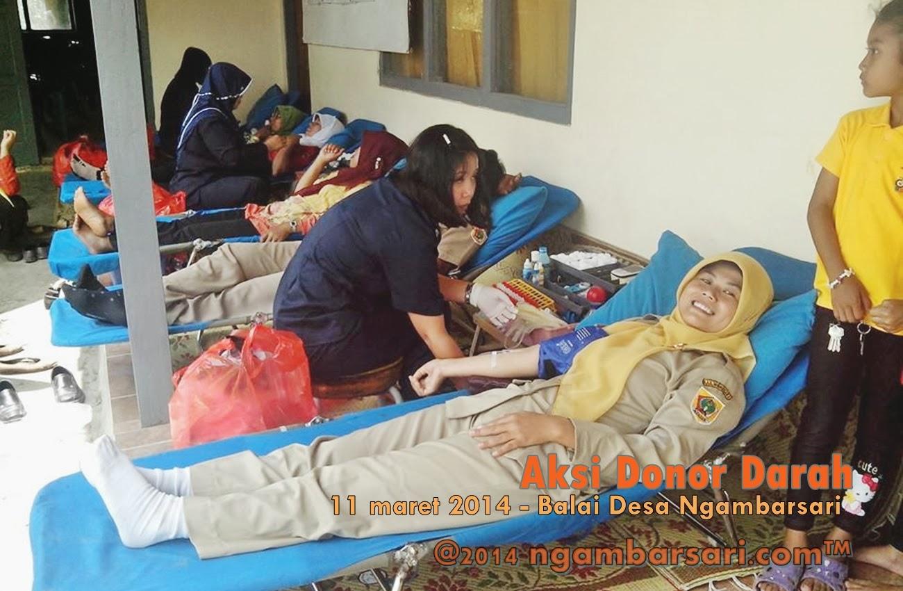 Aksi Donor Darah Ngambarsari 4