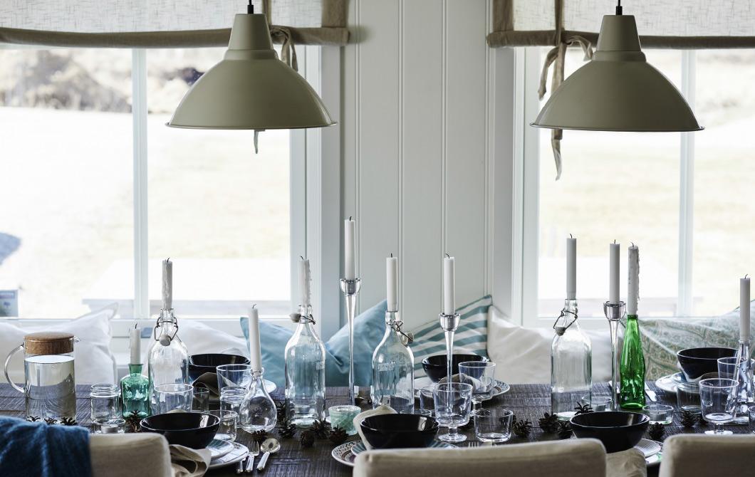 Hjemmet vårt ble publisert på IKEAs hjemmesider nasjonalt og internasjonalt - spiseplassen