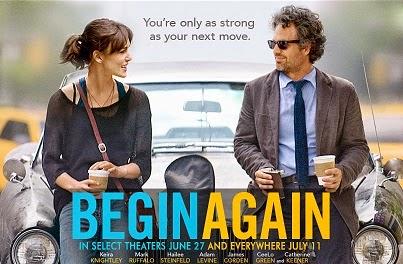 Begin Again (2013) Poster