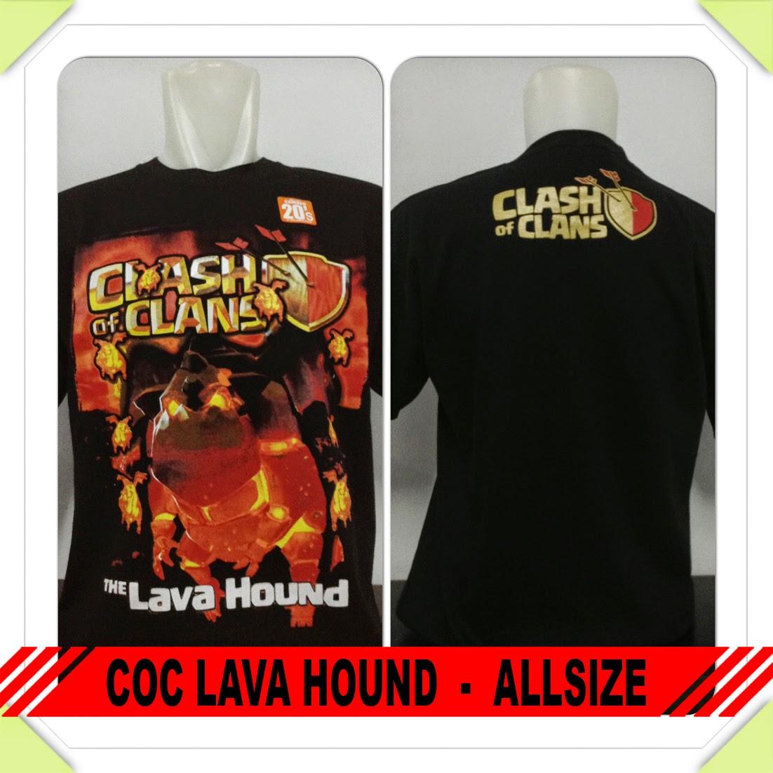 Baju COC Lava Hound