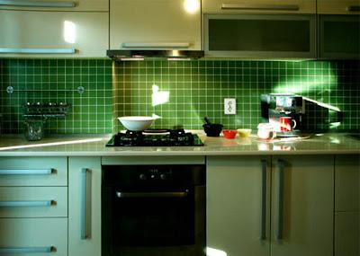 cocina color verde