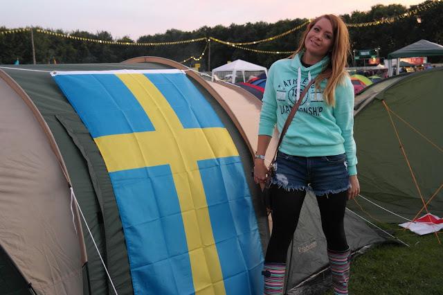Leeds fest camping