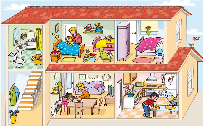 Las cosas que aprendo las casas del mundo - La casa del hogar ...