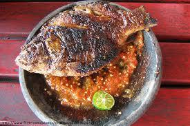 ikan mas bakar, bakar ikan mas, resep ikan bakar, ikan bakar mas