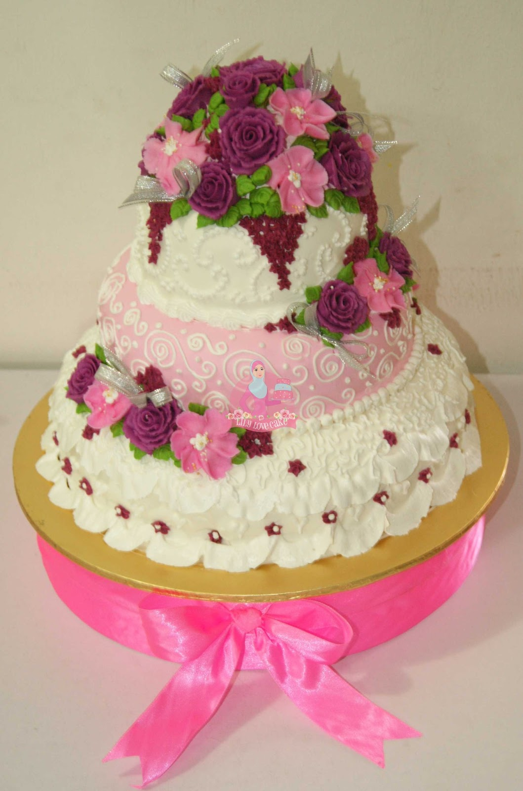 ~: Stacked Wedding Cake :~