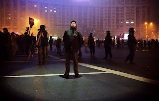 La protest - foto Costin Giurgea