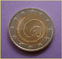 2 Euros Eslovenia 2013
