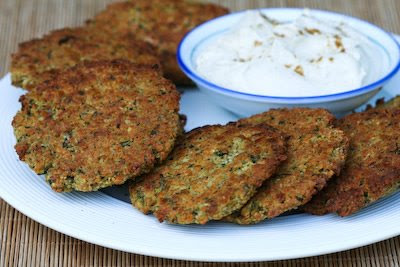 Baked Falafel Patties with a delicious Yogurt-Tahini Sauce