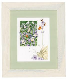 Lanarte. Лавандовое поле с бабочками (Lavender Field With Butterfly)