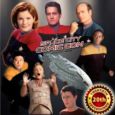 Star Trek Voyager 20th Anniversary Celebration at Space City Comic Con