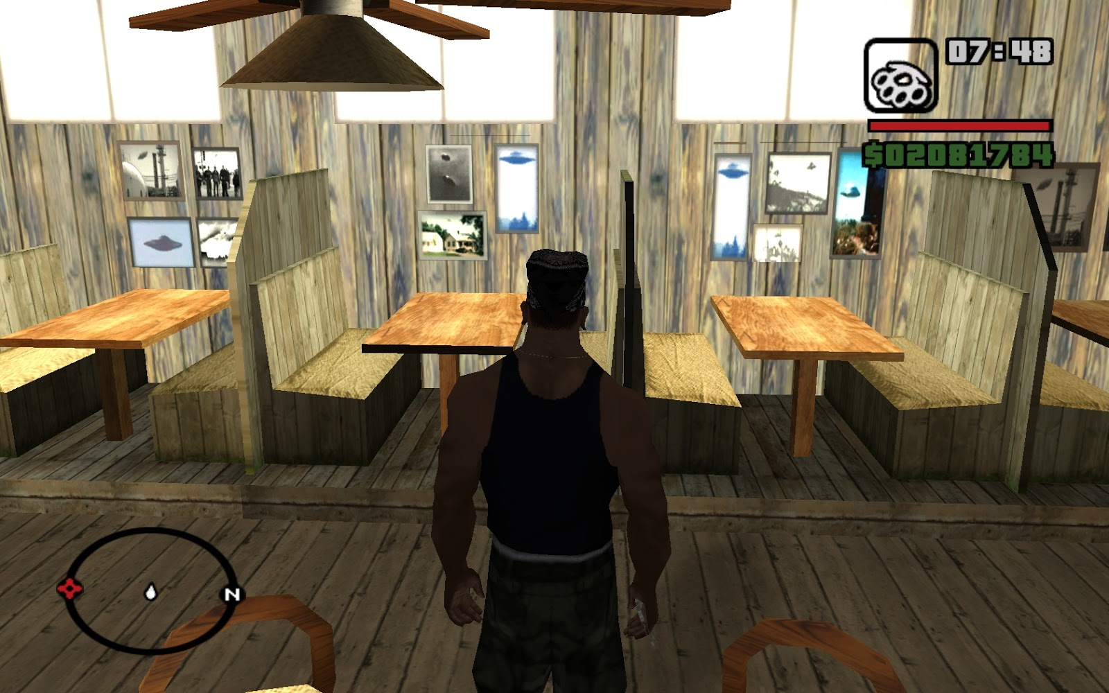Grand theft auto san andreas 2004 video game billy meier ufos in