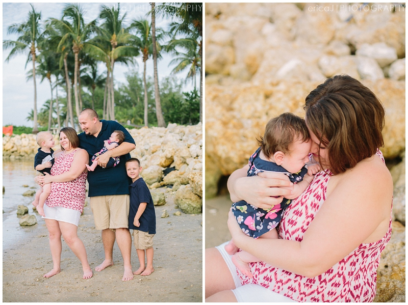 jupiter florida beach family portrait photo