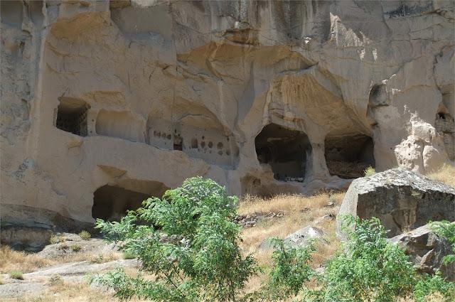 Casas trogloditas - Valle de Ihlara