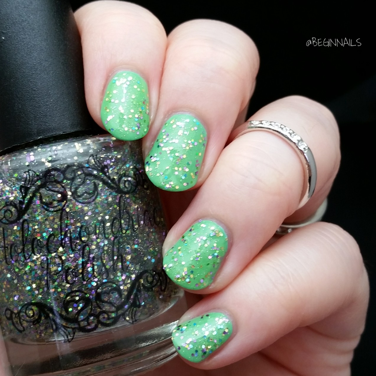 Let\'s Begin Nails: Holochondriac Rebrand Collection Swatch and Review