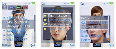 天地@Teen Top SonyEricsson手機主題for Elm/Hazel/Yari/W20﹝240x320﹞