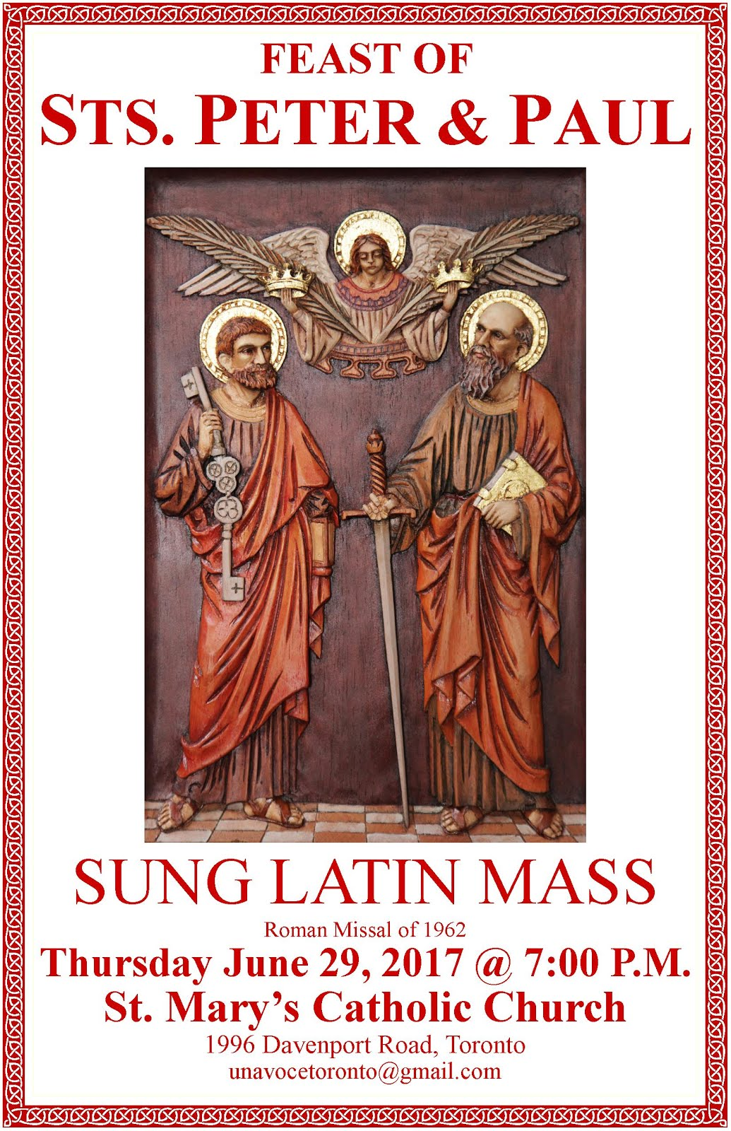 Sts. Peter & Paul Sung Latin Mass