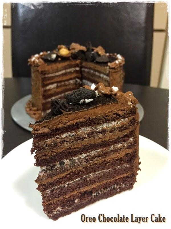 how to make chocolate cake with oreo