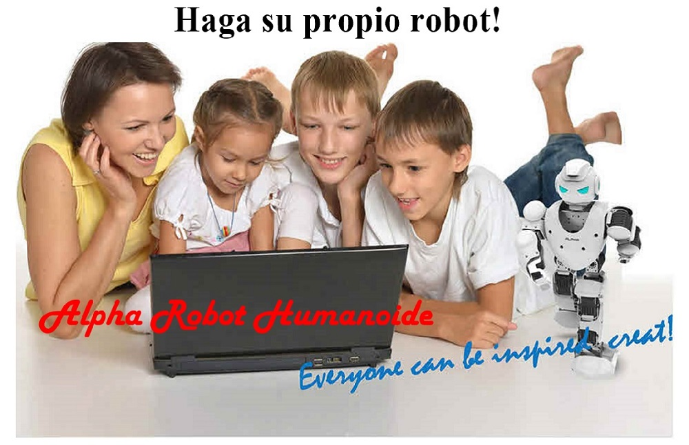 Alpha 1S Robot Humanoide