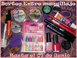 "Sorteo en el blog ""Entre Maquillaje"""