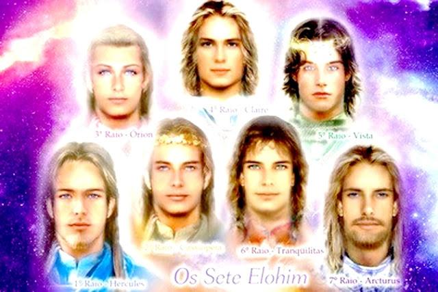 Fascinação imagem falsa dos elohim e dos mestres ascensos