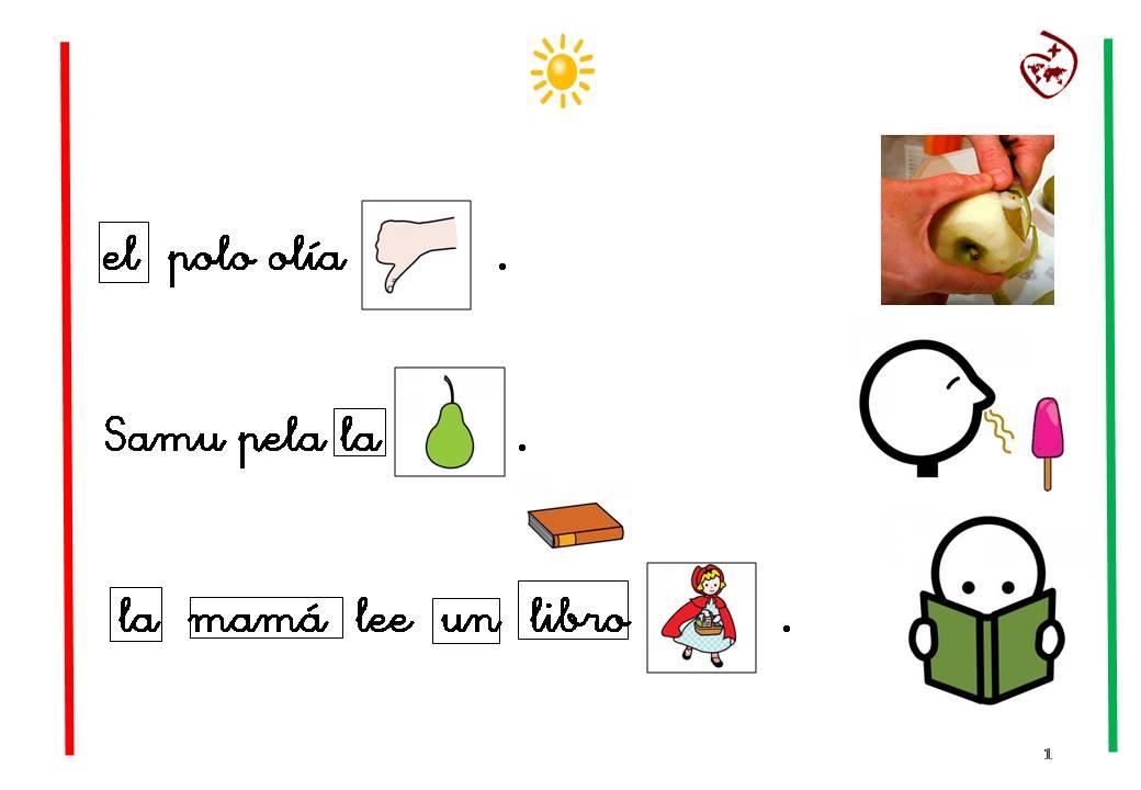 LECTURA COMPRENSIVA 3º DE INFANTIL