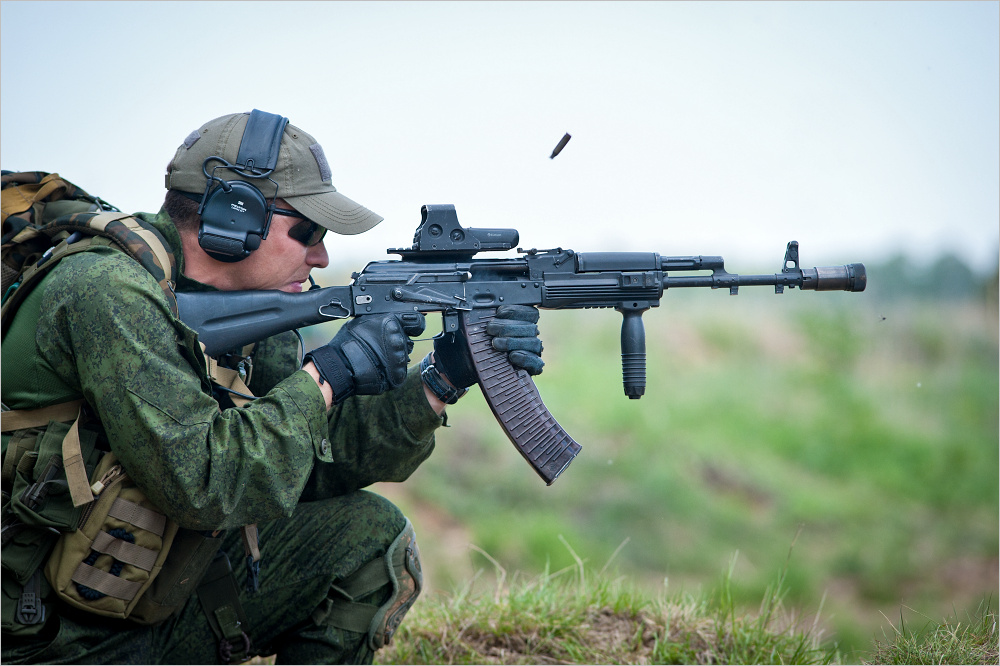 Russian Special Operations Forces Competition | Global ... Army Special Forces Weapons
