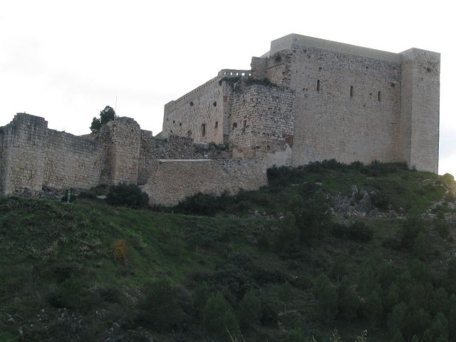 """Castell de Miravet 1"" by Jordiferrer - Treball propi. Licensed under CC BY-SA 3.0 via Wikimedia Commons - https://commons.wikimedia.org/wiki/File:Castell_de_Miravet_1.JPG#/media/File:Castell_de_Miravet_1.JPG"