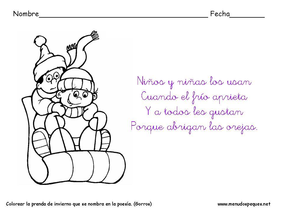 Poemas De Invierno Para Ninos