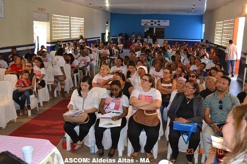 Conferência debate políticas públicas para mulheres em Aldeias Altas