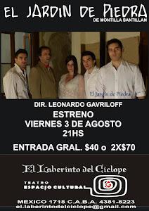 EL JARDIN DE PIEDRA VIERNES 21.30HS