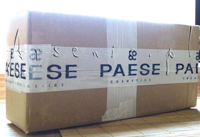 """""""Paese Box"""" - co dostałam w ramach akcji """"Kosmetyki za darmo""""?"""