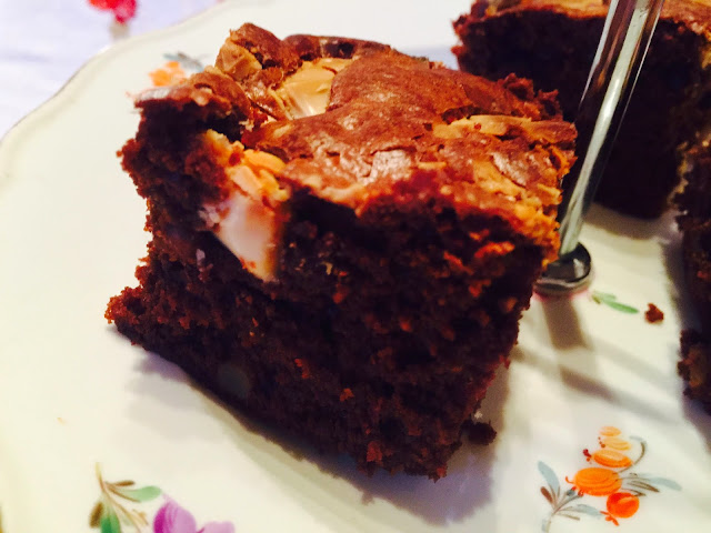Choc & Maple Syrup Brownie