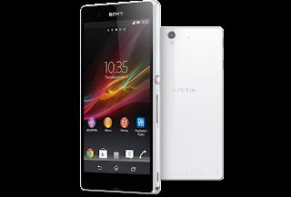 Spesifikasi dan Harga Sony Xperia Z di Indonesia
