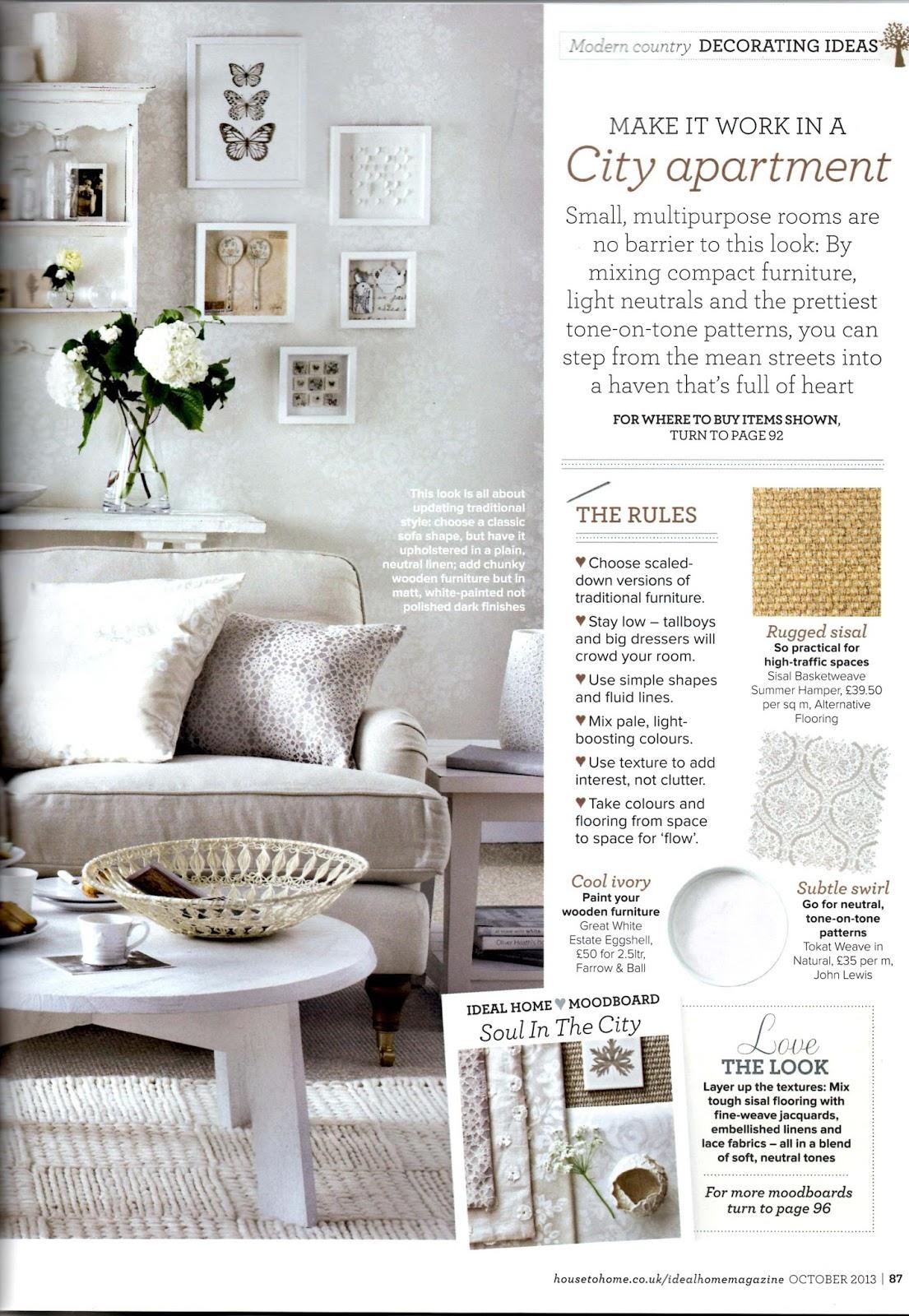 Amanda Mercer - Ceramic Design & Loveliness: Ideal Home Magazine ...