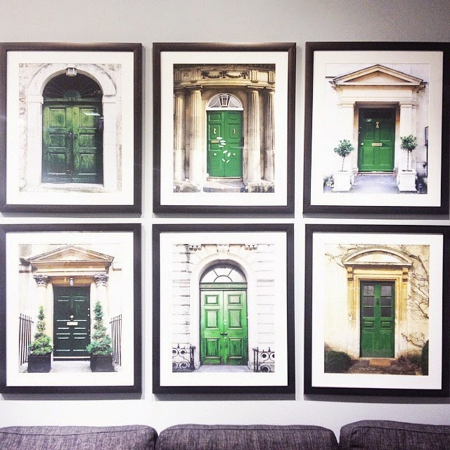 Green Door Prints at the Hudson's Bay, Toronto