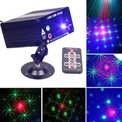Đèn Laser Âm Nhạc Vũ Trường Disco 48 Hình