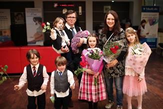† Mesaj din partea familiei Ruth & Marius Bodnariu: Rebecca a venit în lumea noastră cu bine!
