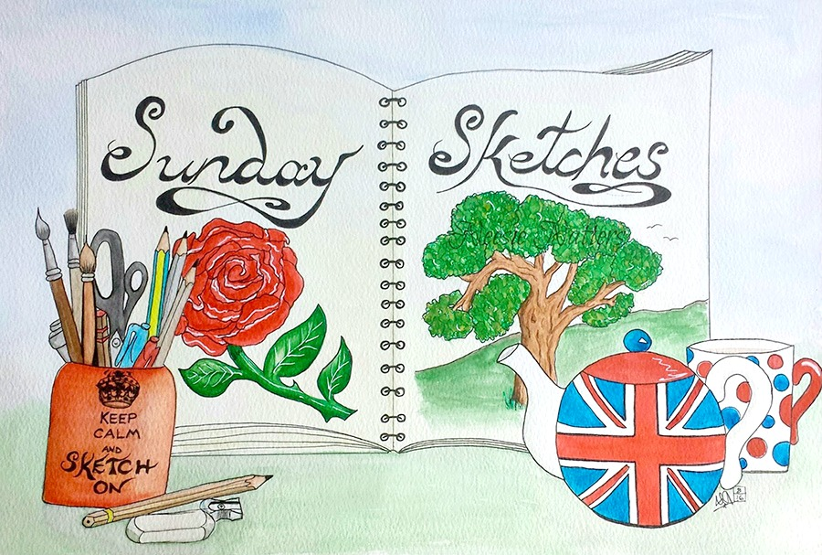 Neesie Natters: Sunday Sketches from England winner!