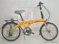Sepeda Lipat Fold-X Seoul 21 Speed Shimano 20 Inci