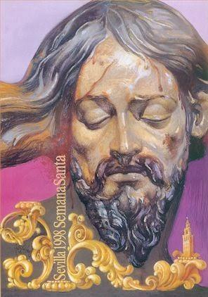 Cartel de la Semana Santa de Sevilla 1998