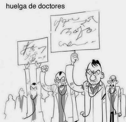 Huelga de doctores