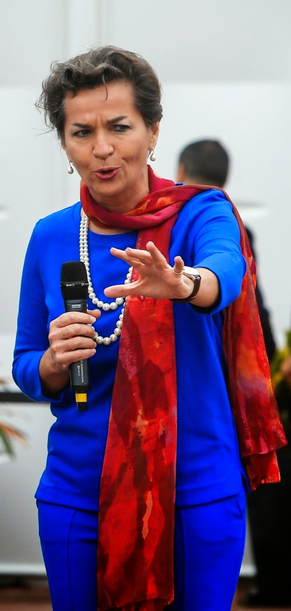 Christiana Figueres in Lima.