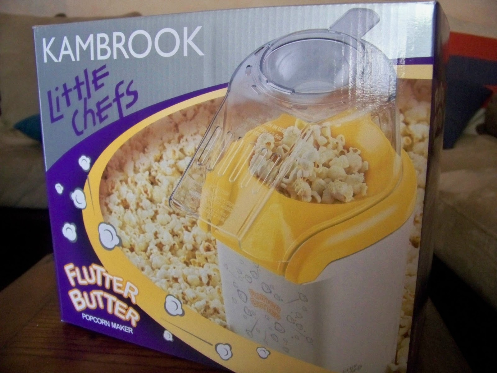 kambrook popcorn maker instructions