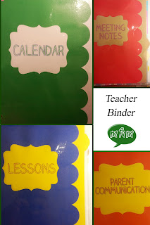 Teacher Binder by Miss, Hey Miss!
