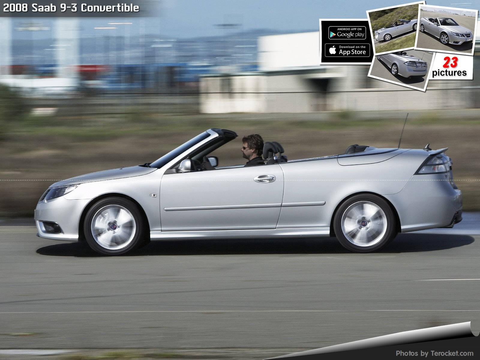 Hình ảnh xe ô tô Saab 9-3 Convertible 2008 & nội ngoại thất