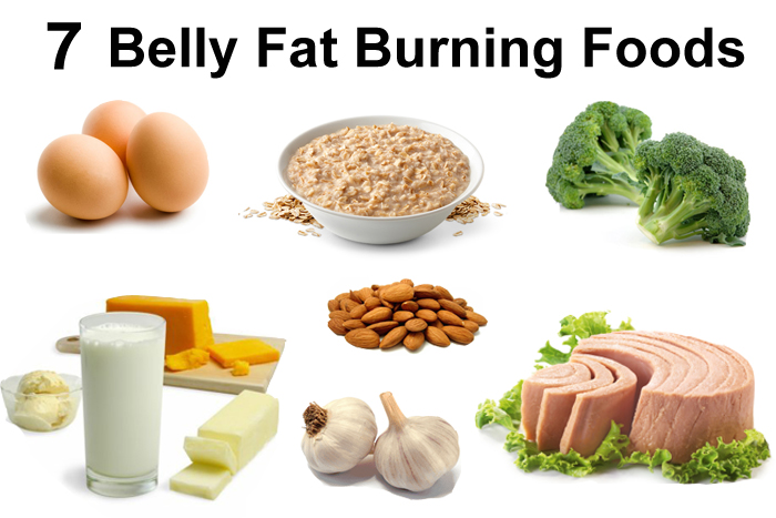 Foods help with belly fat