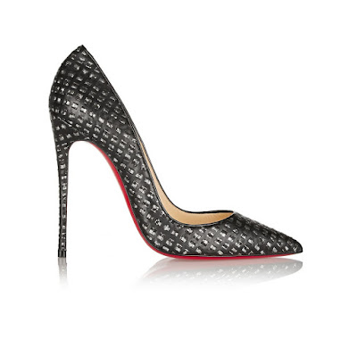 Christian Louboutin So Kate Pumps in tweed and leather