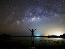 银河摄影作品