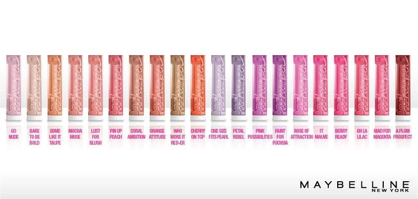 simplysummer07: Review: Maybelline Color Whisper Lipsticks