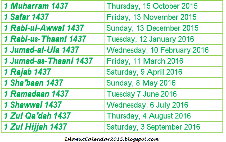 April 2014 ~ Islamic Calendar 2015 Hijri 1437 With Holidays